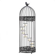 amazon com gifts u0026 decor birdcage style staircase tealight candle