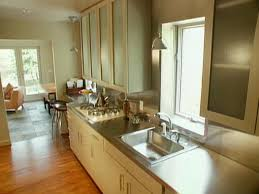 Galley Style Kitchen Small Galley Kitchen Colors Stunning Home Design