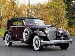 1932 packard twin six individual custom convertible sedan by
