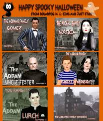 sims and just stuff the addams family for sims 3 by squarepeg56