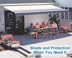 Extending Awnings Sunsetter Patio Cover Canopies And Porch Covers