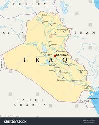 iraq map vector map of iraq rivers lapiccolaitalia info