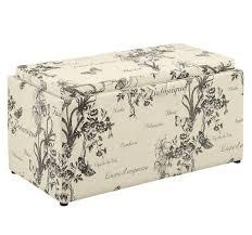 Storage Ottoman Bench Seat Sofa White Ottoman Upholstered Ottoman Fabric Ottoman Storage
