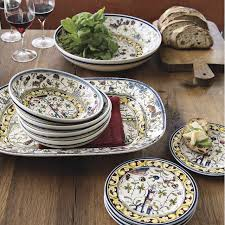 painted serving platters provence painted serving platter williams sonoma