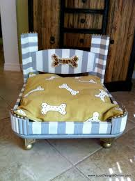 dog beds made out of end tables hand made dog bed from an end table glam dog bed lucy designs
