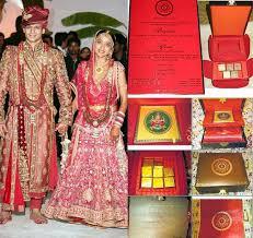 Expensive Wedding Invitations 10 Unique And Elegant Wedding Invitations Of Indian Celebrities
