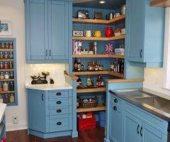 calgary corner pantry cabinets kitchen contemporary with