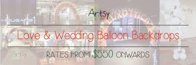 wedding backdrop singapore balloon backdrop singapore balloon decoration services balloon