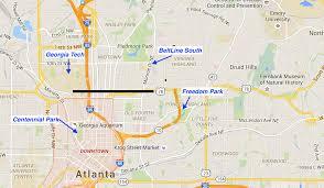 Map Of Atlanta Metro Area by Great Runs In Atlanta U2013 Great Runs U2013 Medium