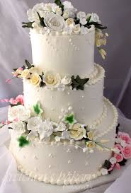 beginners tutorial for how to make a wedding cake from start to