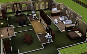 modern house floor plans sims 3 classy ideas 9 sims 3 house designs kitchen interior modern house