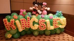 mickey mouse balloon arrangements mickey mouse balloon decoration best 2018