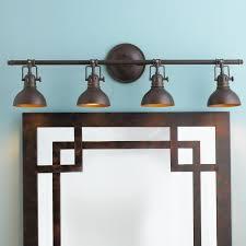 Bronze Bathroom Lighting Bathroom Light Fixtures Bronze Decor Lighting Using Wall