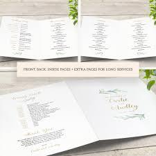 pages menu template greenery wedding menu template printable bar menu reception menu