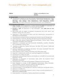 download generator test engineer sample resume