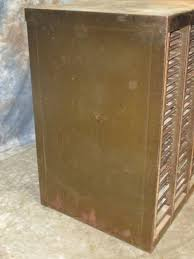 hamilton 100 drawer metal printer cabinet printing tray blocks