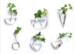 Hanging Glass Wall Vase Glass Wall Vase Wholesale Online Glass Wall Vase Wholesale For Sale