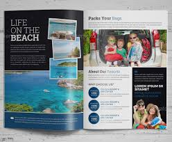 vacation brochure templates