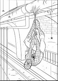 good printable spider man coloring pages spiderman color