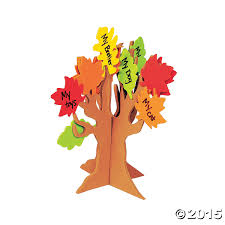 standing tree of thanks craft kit 12 pk party supplies canada