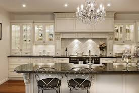 Country Kitchen Backsplash Tiles Kitchen Design Island With Cabinets On Both Sides French Country