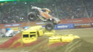 monster truck jam 2013 monster jam 2013 detroit 1 zombie freestyle youtube