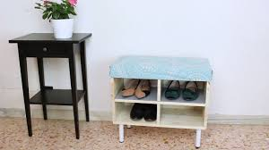 Build A Shoe Storage Bench by How To Make A Shoe Storage Bench