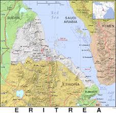 Eritrea Map Er Eritrea Public Domain Maps By Pat The Free Open Source