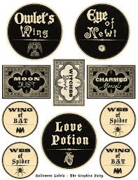 halloween printable free printable halloween labels so amazing from the equally