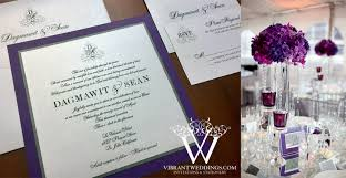 purple and silver wedding invitations purple and silver wedding invitation a vibrant wedding