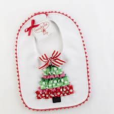 Mud Pie Christmas Ornaments Christmas Bibs Baby Bibs Christmas Tree Pique Bib By Mud Pie