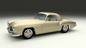 mercedes top model cars mercedes 190sl with interior top by dragosburian 3docean