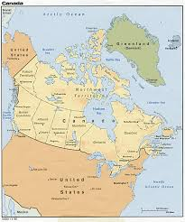 Map Of Toronto Canada by North America Natural Resources Canada Wall Map Canada Location