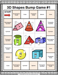 get this and 9 other 3d shapes bump games to help students