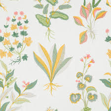 Robert Allen Home Decor Fabric Monsoon Palace Daffodil Robert Allen