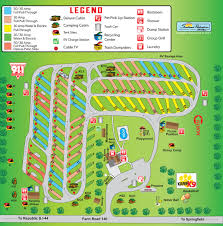 Route 66 Map by Springfield Route 66 Koa Find Campgrounds Near Springfield