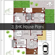 3 bhk house plan 3 bedroom house plans houzone