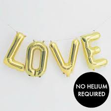 balloon letters balloon letters 16 gold hanging balloons letters air fill