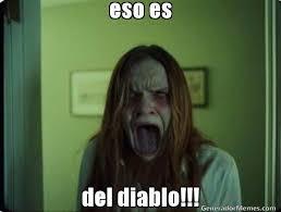 Memes Del Diablo - eso es del diablo meme de cara asustada imagenes memes