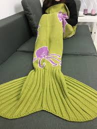 Octopus Home by Blankets U0026 Throws Ginger Cartoon Octopus Home Decor Knitted