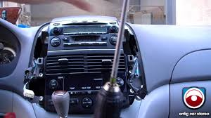 radio removal toyota sienna 2004 2008 youtube