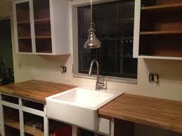 ikea farmhouse sink installation jolly ikea mandal wall mounted headboard kitchen completion