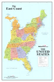 map of northeast us states with capitals eastern us map of the world east coast united states with inside