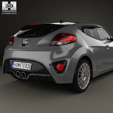 hyundai veloster 2014 turbo hyundai veloster turbo with hq interior 2014 by humster3d 3docean