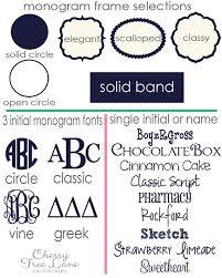 Initial Monogram Fonts Personalized Pet Food And Water Bowls Dog Bowl Monogram Your