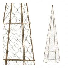 Tomato Cage Milk Jug Witch Tomato Cage Uses Pinterest by Cone Topiary Frame From Tomato Cage And Chicken Wire Garden