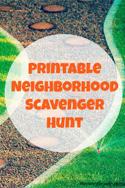 printable thanksgiving scavenger hunt for on the side