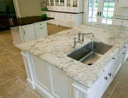 granite colors for white kitchen cabinets modern stainless sink with metal faucet for simple kitchen