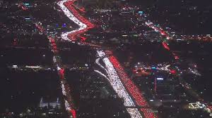 thanksgiving traffic jam in los angeles is most epic tech jollof