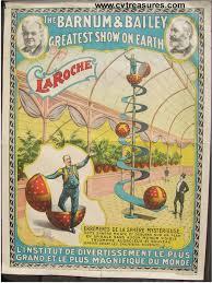 Barnes And Bailey Circus Vintage Circus Poster Barnum And Bailey Circus Poster 1896